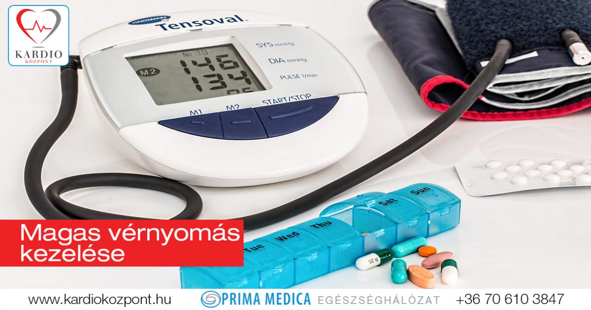 magas vérnyomás vizsgálata és kezelése