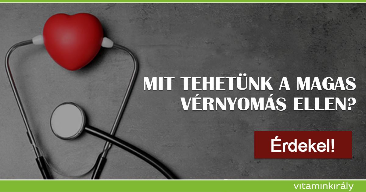 mi a legjobb termék magas vérnyomás esetén hány évig élnek magas vérnyomásban