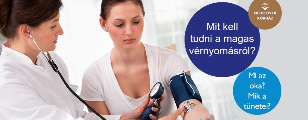 mindent a magas vérnyomásról
