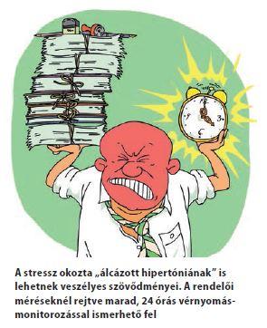 magas vérnyomásról beszél