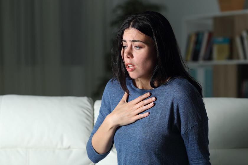 légszomj érzése magas vérnyomás esetén