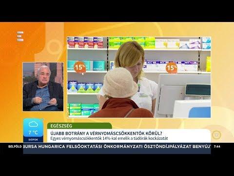 A nagynyomású tabletták új generációjának áttekintése - Anatómia November