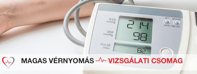 a magas vérnyomás vizsgálati terve