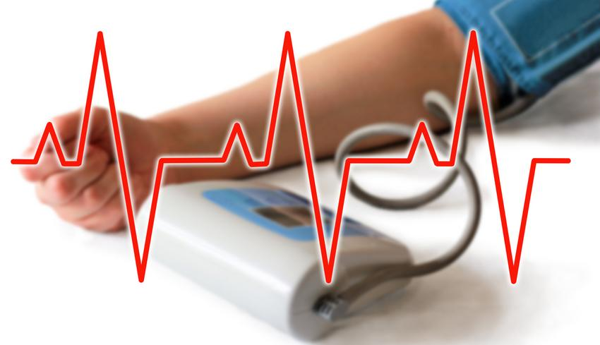 az ecg változása magas vérnyomásban
