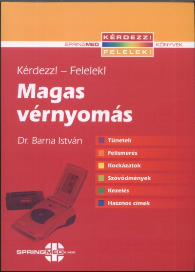 könyvek a magas vérnyomásról mi csökkenti a vérnyomás hipertóniáját