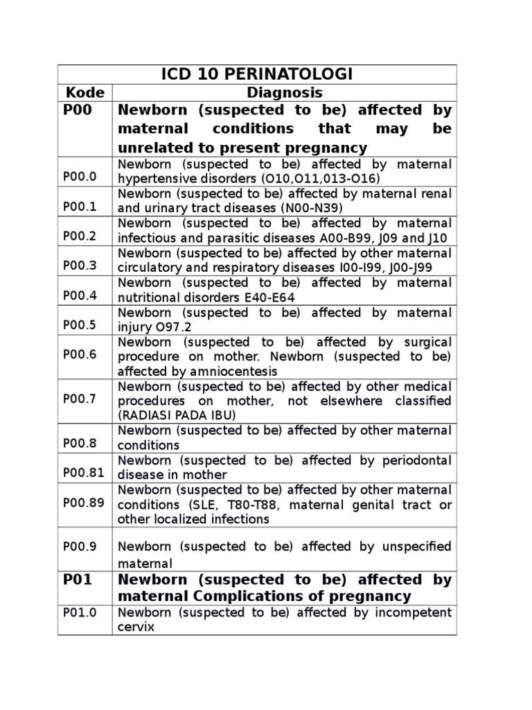 ICD hipertónia kód