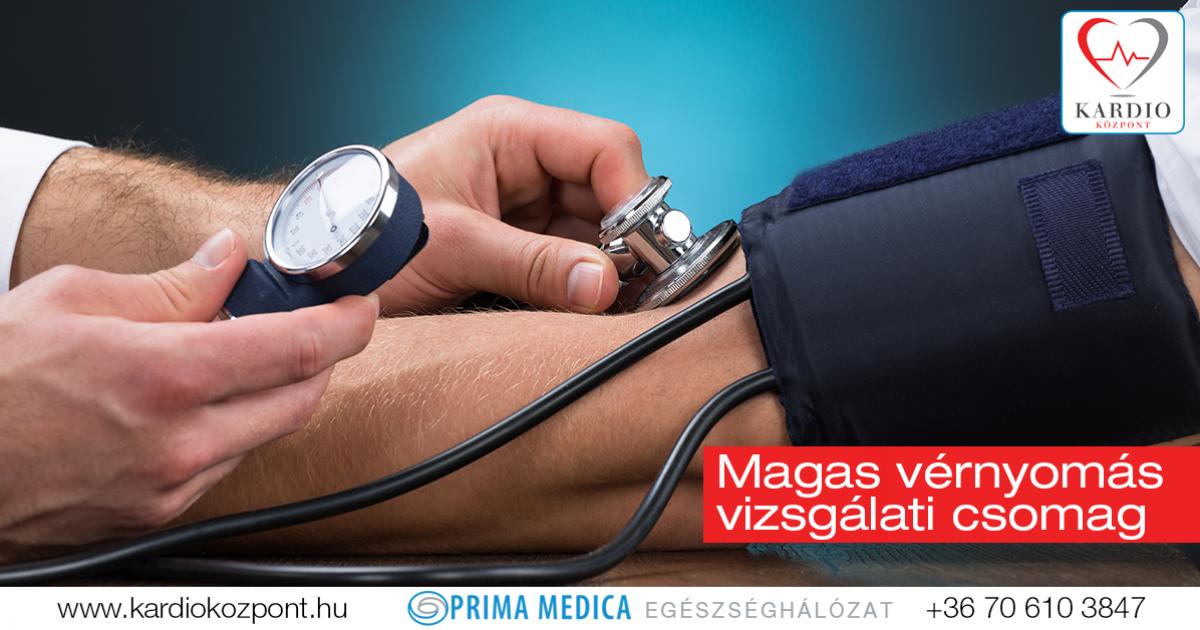 magas vérnyomású tanácsadás kardiológustól