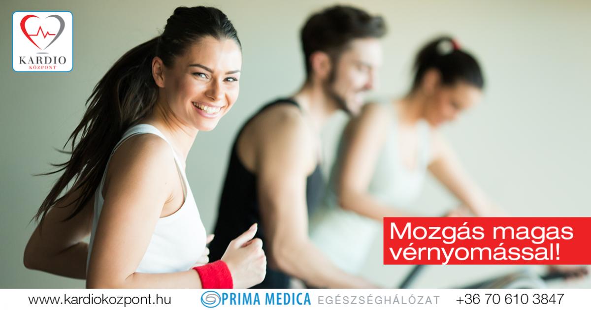 a magas vérnyomás mozgással történő kezelése